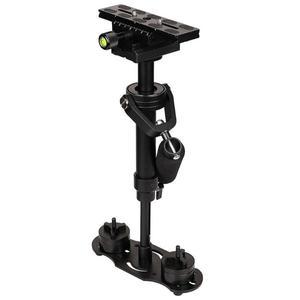 Image 4 - S40 Handheld Aluminum Alloy Video Stabilizer Mount for Phone Canon Nikon DSLR DV AEE DSLR Video Camera for Steadicam