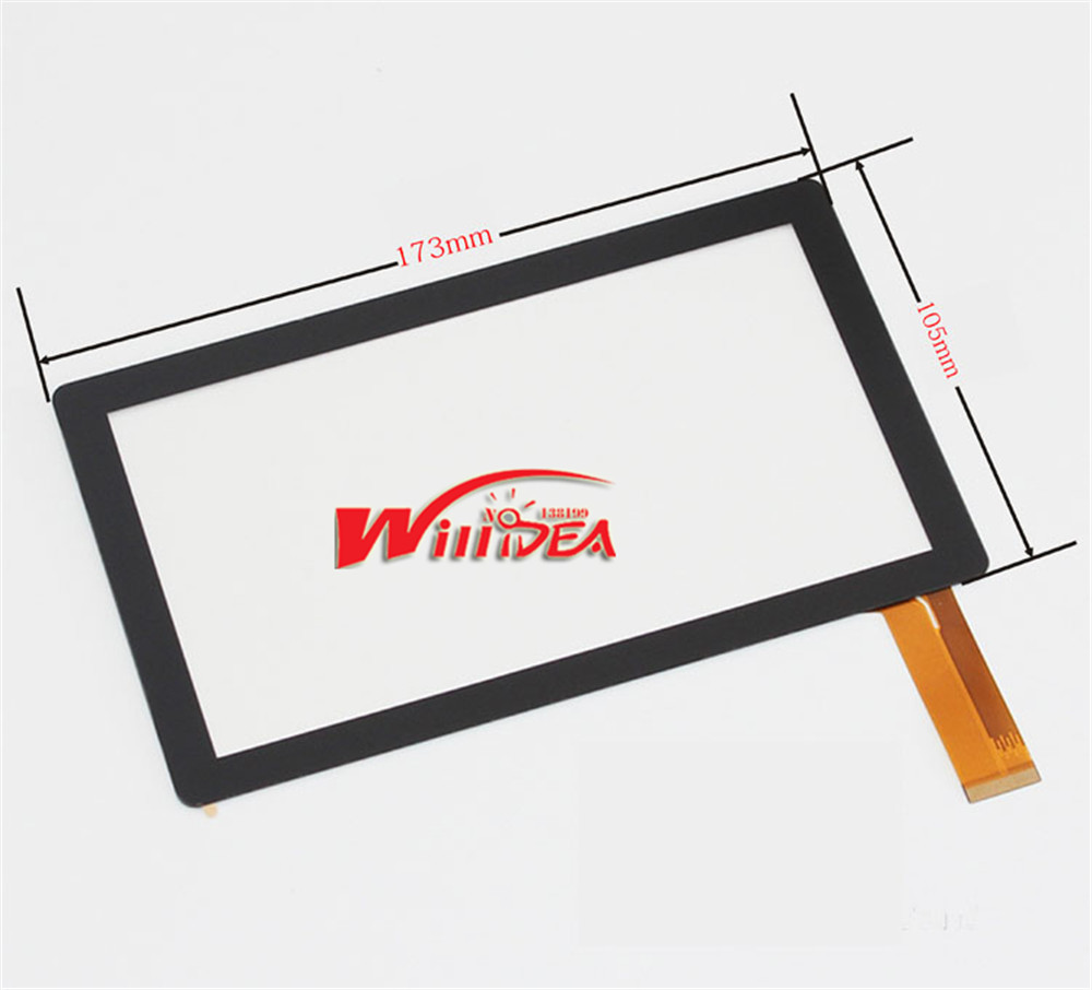 7 7Inch Capacitive Touch Screen PANEL Digitizer Glass Replacement for Allwinner A13 Q88 Q8 Tablet PC new screens Free Shipping new for 8 inch ainol novo 8 novo8 dream tablet capacitive touch screen panel digitizer glass sensor replacement free shipping