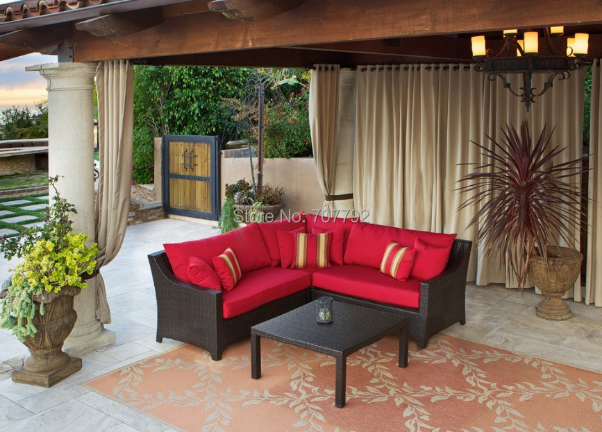 Captivating Por Rattan Corner Sofa Cheap Lots From. Charming Small Outdoor ...