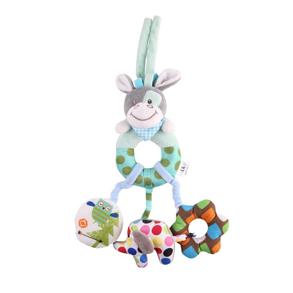Детские погремушки Fulljion, развивающие игрушки для детей, Прорезыватель для зубов, Колокольчик для малышей, детская коляска, подвесные куклы - Цвет: Baby Rattles Mobiles
