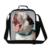 Lindo perro Animal Print Aislado Bolso Más Fresco Del Almuerzo para Los Niños escuela Mensajero Bolsa de Almuerzo Envase del Almuerzo para Los Niños Adultos para trabajo