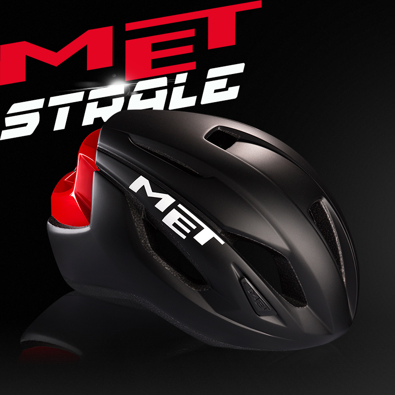 Met Strale Race Helmet cycling Helmet Mountain Road bicycle Helmet Safe Men Women Casco Ciclismo