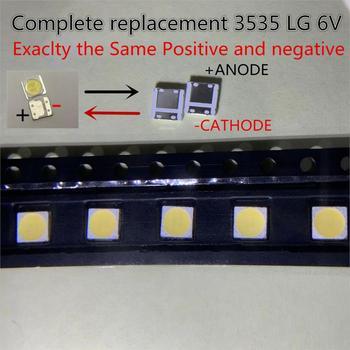 1000 шт. подсветка для LG 2 Вт 6 в 3535, подсветка с холодным белым ЖК дисплеем для телевизора, приложение Style 2 Подвесные лампочки      АлиЭкспресс