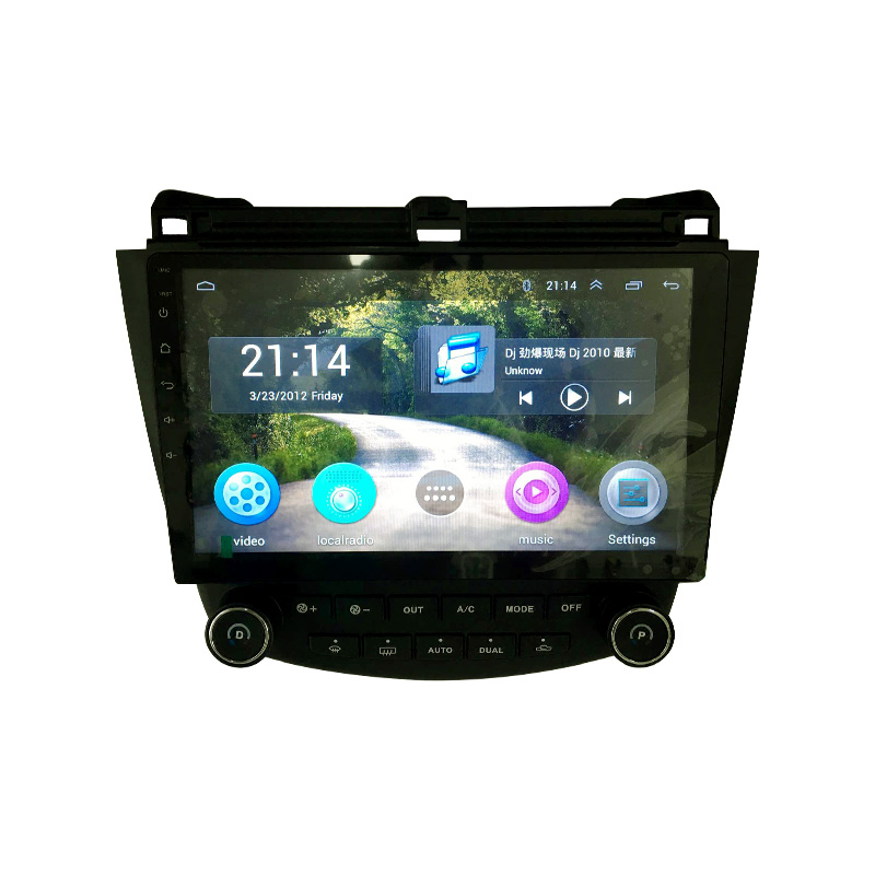ChoGath(TM) Android 5.1 GPS Navigation 10.2 Inch  for Honda Accord 7 2003-2007 Car Rradio With 1080P Video Bluetooth Support