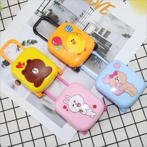 Оригинальный модный чемоданчик для кукол Барби, мини-кукла с регулируемой ручкой, колесико для путешествий, чемоданчик для багажа, кукольный домик, мебель