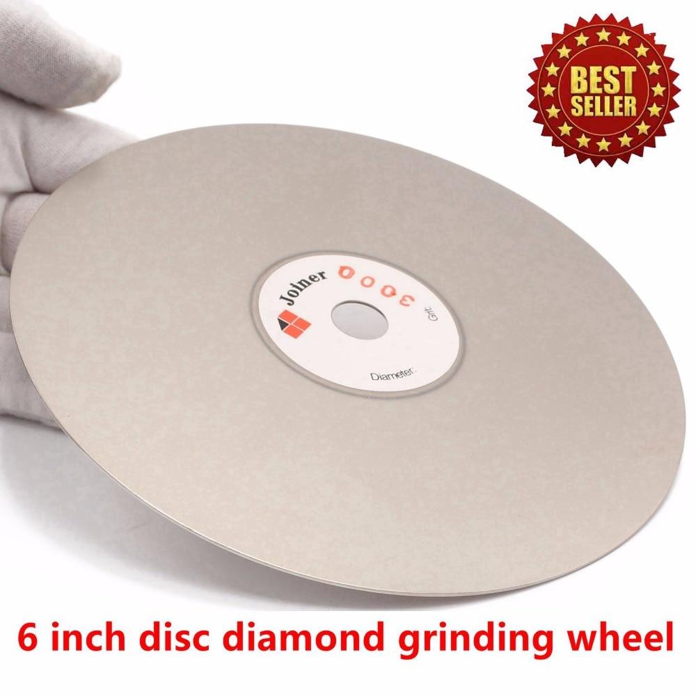 6 colių, 150 mm šlifavimo 60-3000 deimantinis šlifavimo diskas, - Abrazyviniai įrankiai - Nuotrauka 5