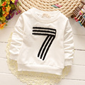 2016 spring and autumn baby T-shirt boys and girls 100% cotton letter Hot T of baby boy long-sleeved children's brand T-shirt