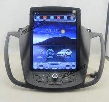 """10,4 """"tesla estilo de pantalla vertical del coche de android 4,4 Quad core GPS radio de navegación para ford kuga 2013-2016"""