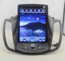 10,4 «tesla стиль вертикальный экран android 6,0 четырехъядерный автомобиль gps, видеоплеер навигация для Ford Kuga ESCAPE C-max 2013-2016