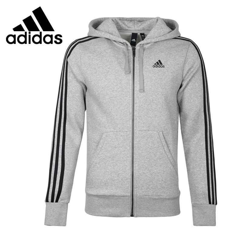 Original New Arrival Adidas Performance ESS 3S FZ B Men's jacket Hooded Sportswear