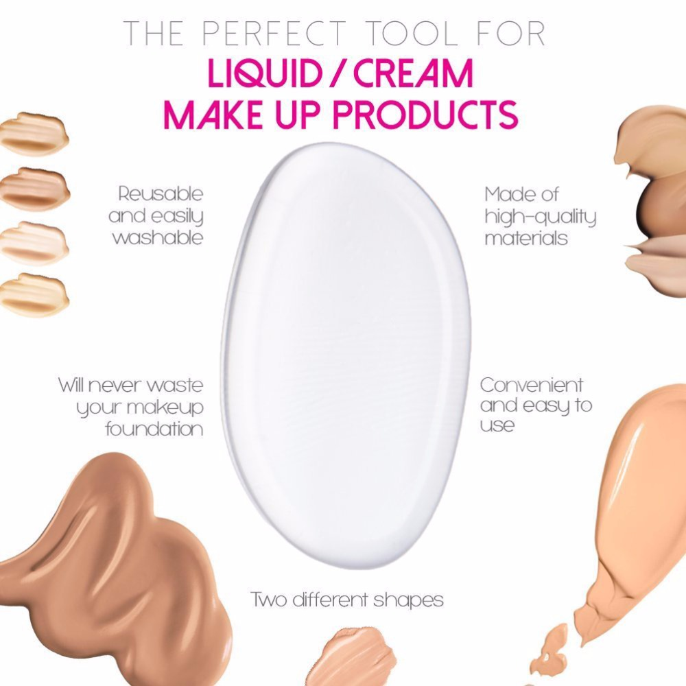 Beauty Essentials 2019 New Silisponge Makeup Puff Silicone Sponge Make Up Liquid Foundation Bb Cream Puff Beauty Essentials Make Up Tools With A Long Standing Reputation