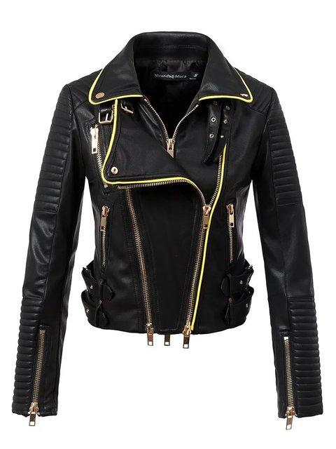 Женщины мотоциклах куртка искусственной кожи байкер куртки jaqueta де couro feminina Уличная горячие продажа Slim fit падение замши высокого качества