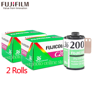2 Roll/lot Fujifilm Fujicolor C200 Color 35mm Film 36 Exposure for 135 Format Camera Lomo Holga 135 BC Lomo Camera Dedicated(China)