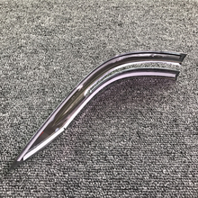 ABS Chrome Rearview Mirror Strip Cover Trim For CRV 2012-2018