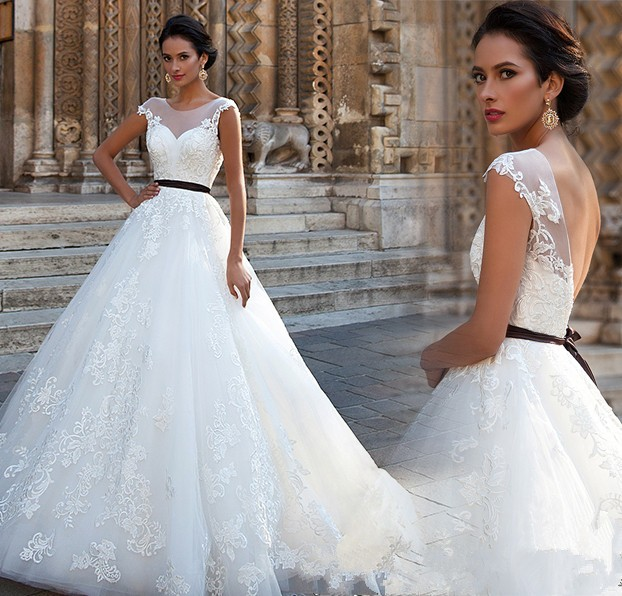 Vintage Wedding Dress High Quality Sexy High Necked Lace Wedding Gowns Boho Bride Dresses Plus Size Vestido De Noiva Custom In Wedding Dresses From