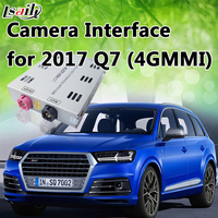 Backup Camera Video Interface for AUDI Q7 Trigger by Put Reverse Gear with RGB Input for 360 Bird View Cameras
