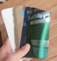 100% Оригинал Заднее стекло Крышка Для Samsung Galaxy S6 Edge задняя Крышка Батареи s6 Заднее Стекло Двери корпуса С Водонепроницаемый клей