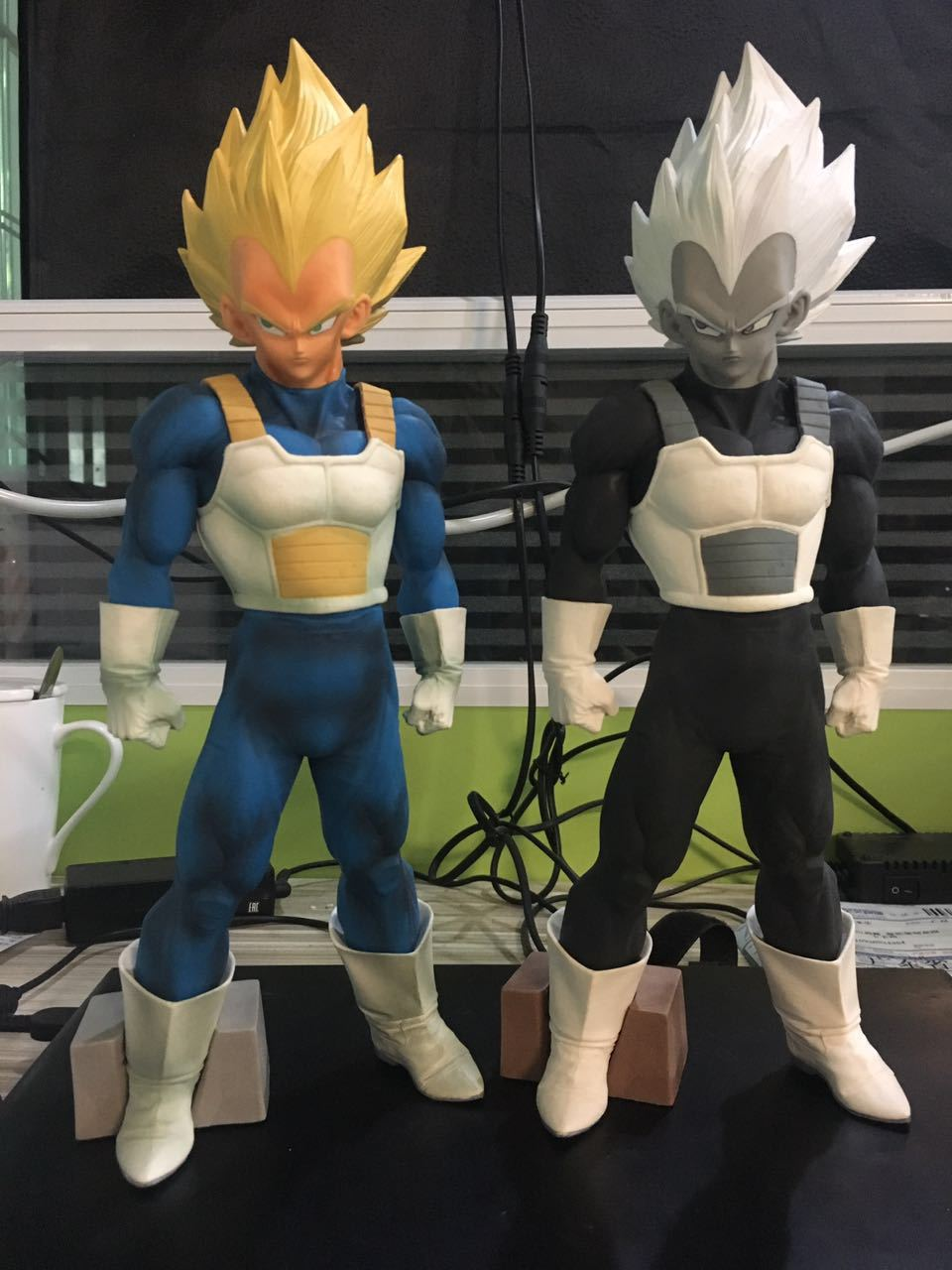 anime Dragon Ball z super saiyan vegeta action figure pvc classic collection Dragon Ball figure model garage kit toy 32cm 4parts sets super lovely chopper anime one piece model garage kit pvc action figure classic collection toy doll