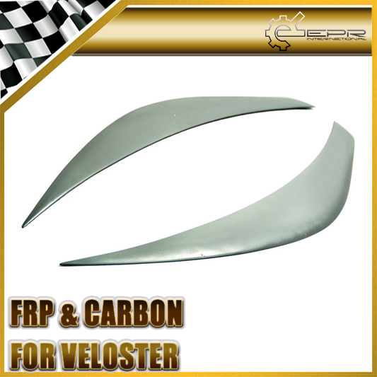 EPR Car Styling For Hyundai Veloster FRP Fiber Glass Headlight Eyebrow Fiberglass Eyelid Light Protect Accessories Racing Trim геймпад defender archer проводной геймпад