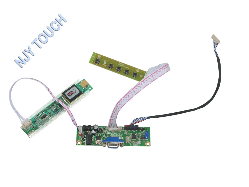 V.M70A VGA LCD Controller Board Kit for HT12X21 12 inch 1024x768 CCFL LVDS 20 pins