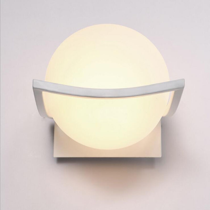 Modern minimalist creative bedside lamp bedroom glass wall lamp led wall lamp living room stairs aisle balcony lamps led fixture the art of creative personality of modern minimalist living room bedroom aisle led bedside lamps wall lamp porch wall lighting