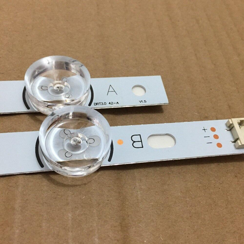 100% NEW  2 PCS(1*A,1*B) LED Strips For LG INNOTEK DRT 3.0 42