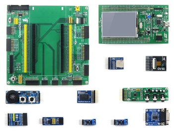STM32F429I-DISCO and Expansion Board +10 Modules Kits STM32F429I STM32 Cortex M4 Development Board # Open429Z-D Package B