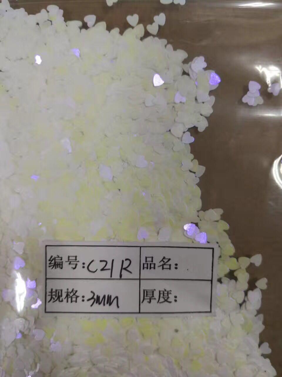 Résine UV de scintillement lâche de coeur violet irisé de 3mm, gel d'ongle, ongle acrylique, scintillement de vernis à ongles, scintillement d'effet d'opale d'estampillage d'ongle