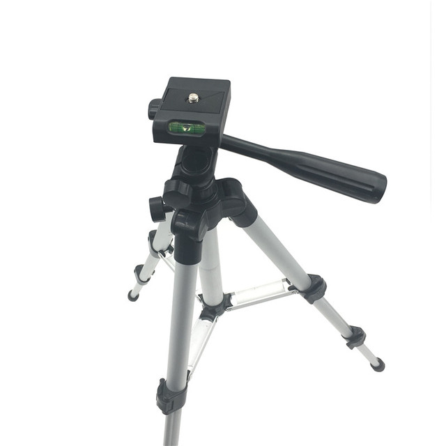 Professional Camera Tripod Mount Stand Holder for iPhone Mobile Phone Universal Portable Digital Camera Camcorder Tripod Stand