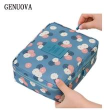 New Man Women Portable Toiletry Neceser Zipper Makeup Bag Waterproof Cosmetic Bag Beauty Organizer Storage Travel Wash Pouch Bag