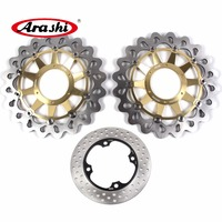 ARASHI дисковый тормоз для HONDA CBR1000RR SP 2014 2015 CBR 1000 RR SP спереди ротор заднего тормоза CBR1000RR 2008 2009 2010 2011 2012 2015