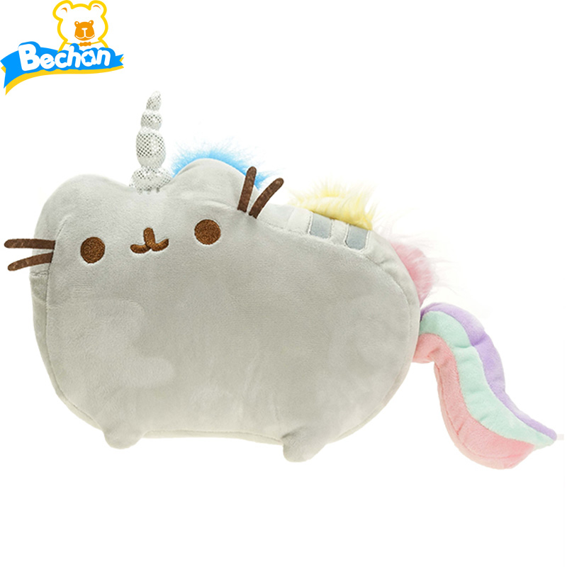 Cute Big Cat Plush Toy Pillow : 20cm cute big face cat stuffed animals toys 2 colors good quality cat plush toys for kids gift ...
