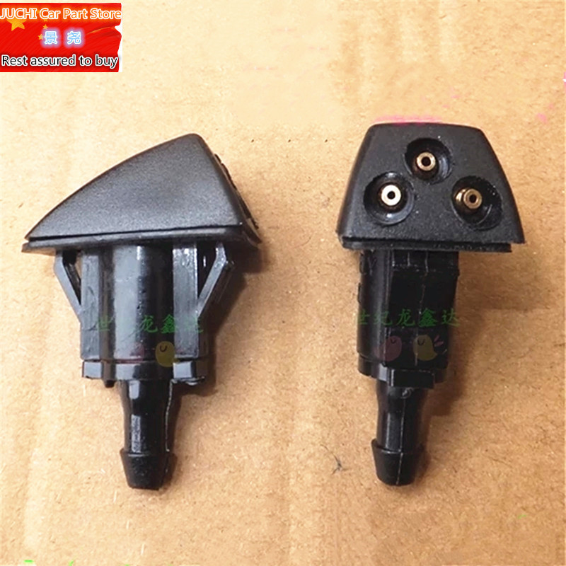 Car front windshield washer wiper jet water spray nozzle for Geely MK 1 ,MK 2, MK Cross , 2 pcs/lot