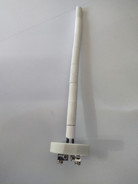 Gratis Verzending Keramische Kern WRN-010 K Type Thermokoppel 0 ~ 1300C Hoge Temperatuur Weerstand Oven Sensor Voor Moffeloven