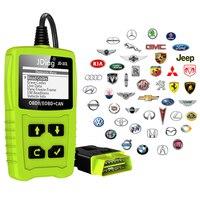 JDiag Car Diagnostic Tool Automotive Scanner OBD2 Code Reader Obd2 Scanner Better ELM327 Engine Fault Car