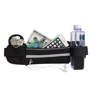 Image 5 - 幽ウエストバッグを実行しているウエストバッグスポーツポータブルジムホールド水サイクリング電話バッグ防水女性ベルト