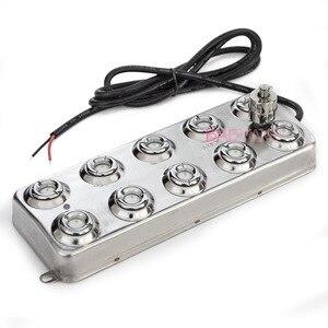 Image 2 - Atomizador ultrasónico DC 48V 5000 ML/H, Humidificador Industrial, máquina de niebla, generador de niebla ultrasónica, 10 cabezales con potencia