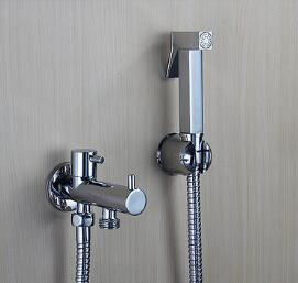 New Arrivals High Quality Bathroom bidet faucet with shower head toilet spray bidet shower set with hand shower gun bidet taps 2017 wholesale new premium high quality gold bidet mixer faucet taps