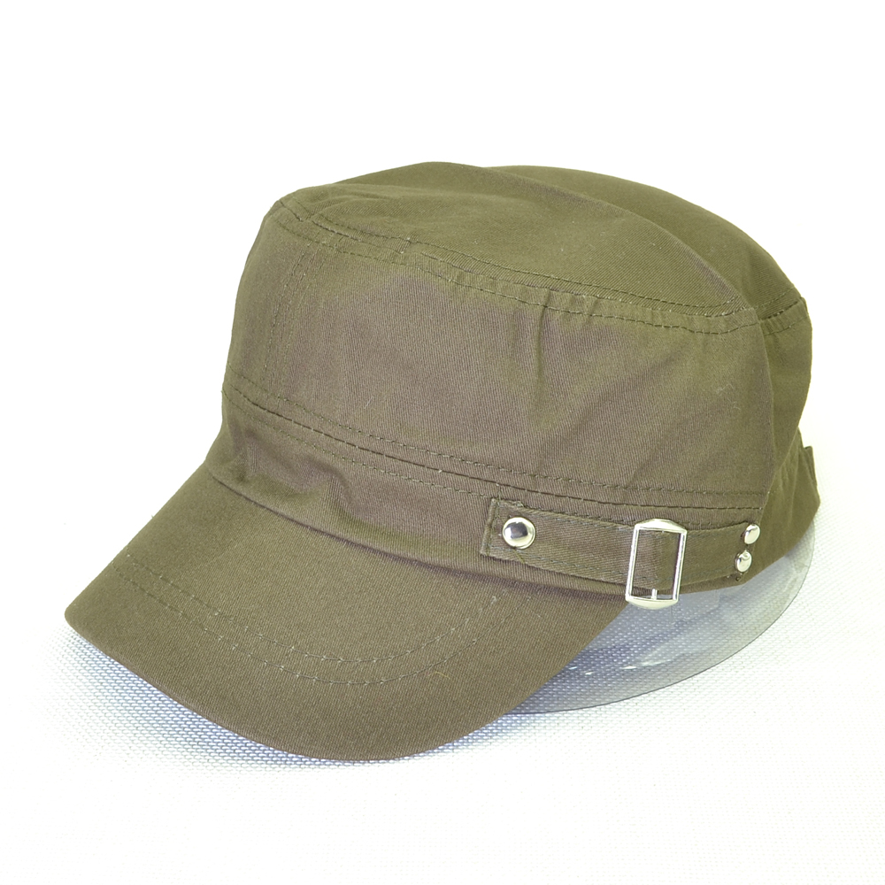 634d25ffe65 Adult Men s Caps Adjustable Size Flat Cap 100%Cotton Army Military Hats  Western Style Male ...