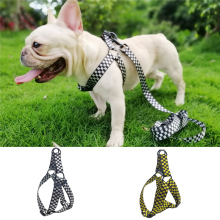 Dog Harness Adjustable Easy Control Training Walking Small and medium pet dog vest harness 4size Two colors Puppy