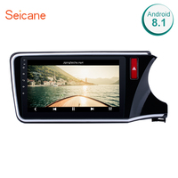 Seicane 10.1 Android 8.1 Car GPS Navigation Radio Multimedia Player For 2014 2015 2016 2017 HONDA CITY RHD with Bluetooth wifi