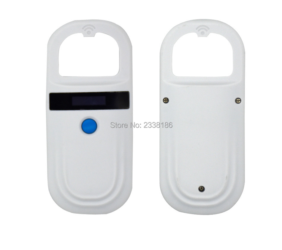 Image 4 - READELL Free shipping product 134.2KHz FDX b Glass Animal reader Pet ID Microchip RFID Handheld Scanner-in IC/ID Card from Security & Protection