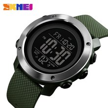 цена на SKMEI Luxury Brand Outdoor Sports Watch 50m Waterproof Multifunction Luminous LED Digital Watch Casual Watch Models Relogio