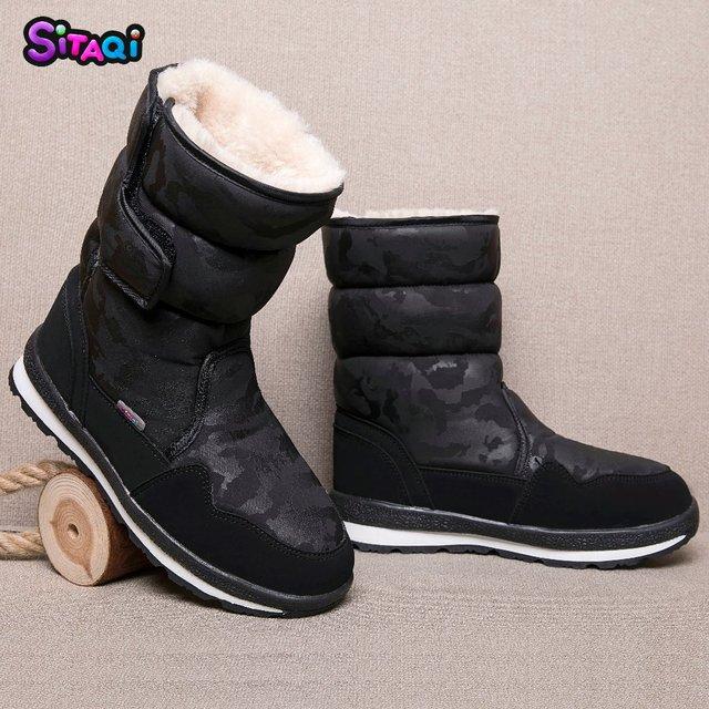 Zapatos de moda para niñas botas negras 2018 nuevo estilo botas de nieve  para niños suela 1ceacdb6305e5