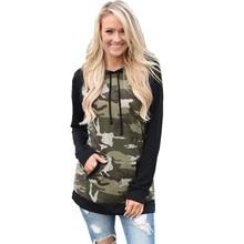 women hoodies sweatshirts ladies autumn winter fall clothing parties travel sports camouflage  sweat shirts cute