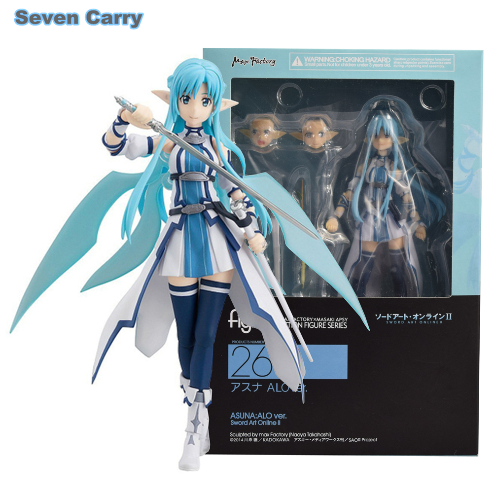 Sword Art Online II-Asuna ALO ver Max Factory 264 figma Action Figure no