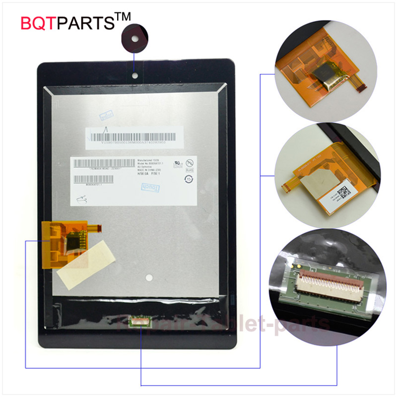 7.9 Inch Touch screen For Acer Iconia Tab A1 A1-810 A1-811 A1 810 Lcd Display + Touch Screen Panel Digitizer Parts for acer iconia tab a1 a1 810 a1 811 a1 810 tablet pc touch screen panel digitizer glass lens sensor repair parts replacement