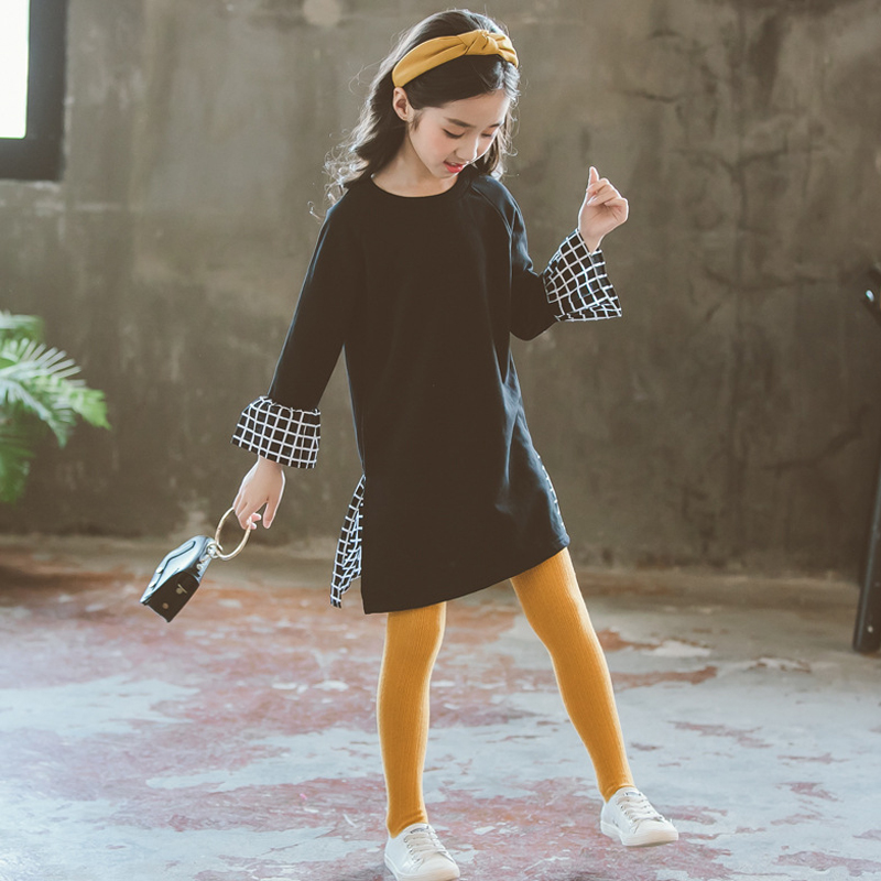 girls long sleeve dress kids dresses for girls fall princess dress baby girl dresses autumn 2018 tenn clothes children clothing стоимость