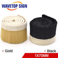 1M x 70mm Brush Vacuum Cleaner Engraving Machine Dust Cover For CNC Router For Spindle Motor