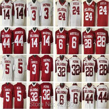 9a47abfd06e ... vintage red basket jerseys e749a e39af  italy mens mens 6 baker  mayfield 32 samaje perine 28 adrian peterson 44 brian bosworth college
